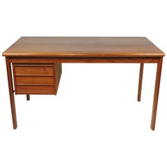 Lovig Danish Modern Teak Sliding Top Desk