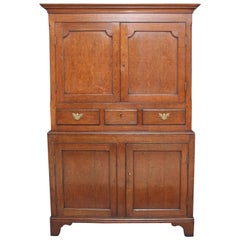Early 19th Century Oakwood Cupboard