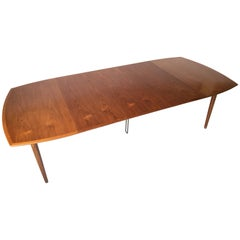 Harry Ostergaard Vintage Teak Danish Modern Dining Extension Table
