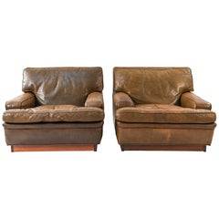"""Pair of Arne Norell """"Mexico"""" Lounge Chairs"""
