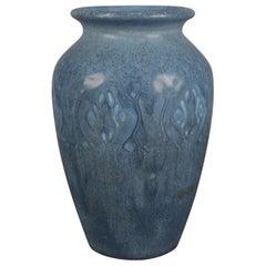 Antique Arts & Crafts Art Pottery Stylized Foliate Petite Vase by Rookwood