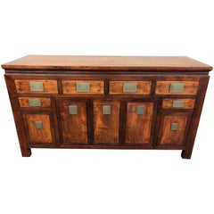 1940s Asian Rosewood Credenza