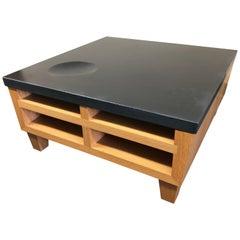 De Sousa Hughes Cement and Oak Coffee Table