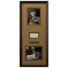 General George S. Patton Jr., Twice Signed Free-Frank Envelope to His Father