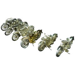 Harley Davidson Miniature Motorcycle Collection