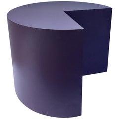 Memphis Style 1980s Geometric Pie Table