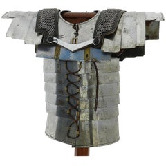 Decorative Roman Armour Amor on Stand, 20th Century