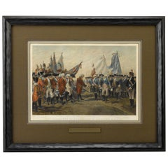 Cornwallis Surrendering the British Army to General Washington at Yorktown
