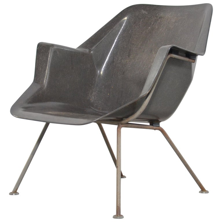 Wim Rietveld Lounge Chair 416 for Gispen