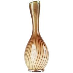 Glass Vase Colora by Vicke Lindstrand for Kosta Glasbruk