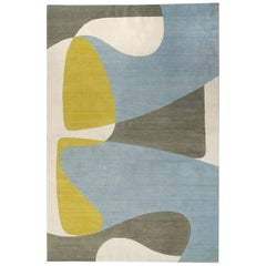 Form 2 Hand-Knotted 10x8 Rug in Wool by Tom Dixon