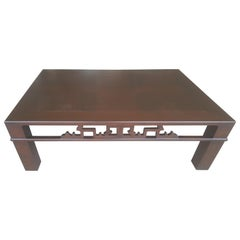 Baker Coffee Table Asian Inspired Detail