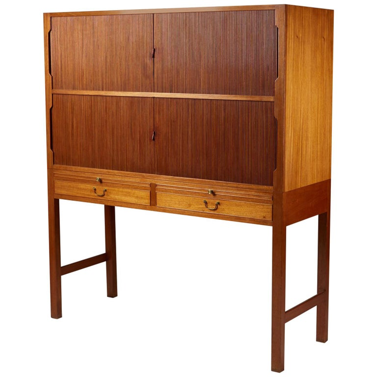 Ole Wanscher for A.J. Iversen cabinet, 1947, offered by Modernity
