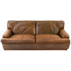 """Arne Norell """"Mexico"""" Leather Sofa"""