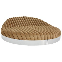 Hollywood regency Contemporary Daybed Sofa by studio goldwood
