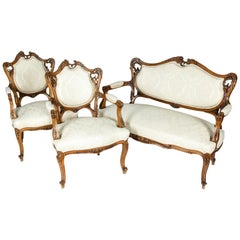 Vintage French Seating Three-Piece Set