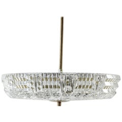 Pendant Chandelier by Carl Fagerlund for Orrefors