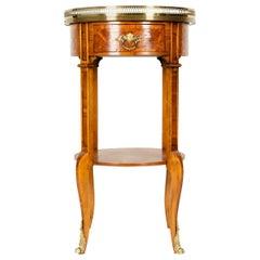 Early 19th Century Mahogany / Gilt Bronze Side Table