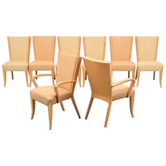 Dakota Jackson Dining Chairs, Set of Eight