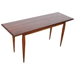 Midcentury Solid Wood Console Table, Brazil, 1960s