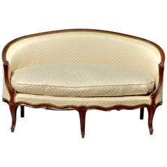 Louis XV Style Settee / Canape of a Curvaceous Form