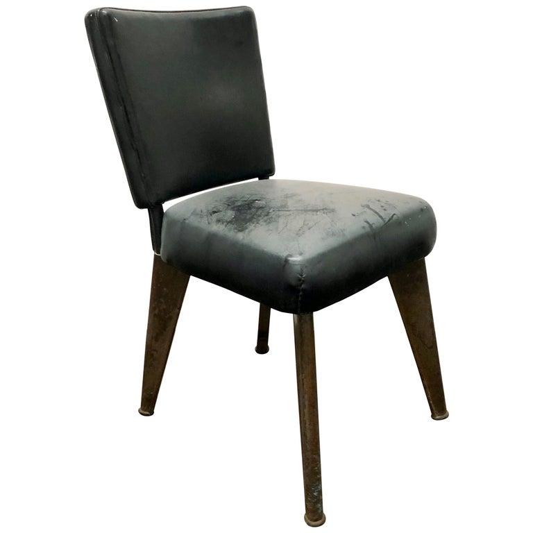 """""""Clemenceau"""" Chair by Maison Dominique, France, 1960"""