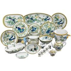 """Hermes """"Toucan"""" Porcelain Dinnerware Service"""