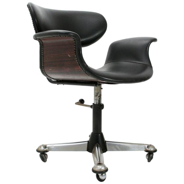 Italian Office Chair 1950s For