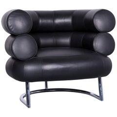 ClassiCon Bibendum Chair Designer Leather Armchair Black