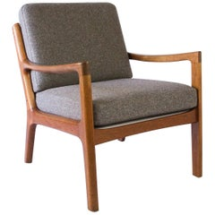 Ole Wanscher Model 166 Senator Easy Chair, Denmark, 1960s