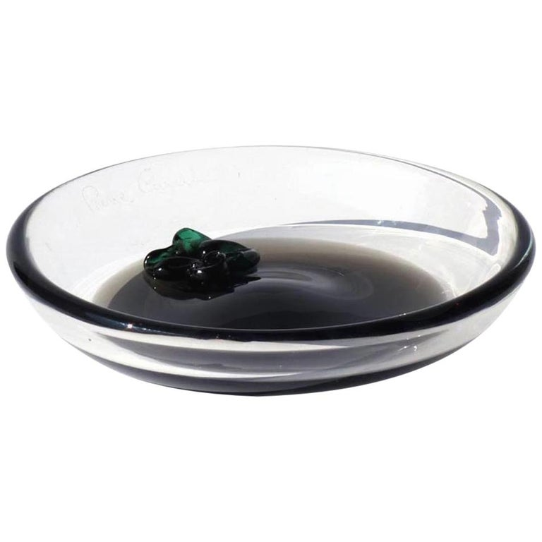 1960s by Pierre Cardin for Venini Murano Glass Ashtray