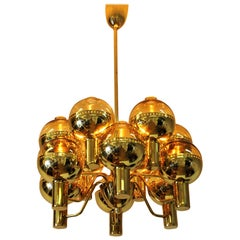 Swedish Special Edition Patricia T372/12 Chandelier by Hans-Agne Jakobsson