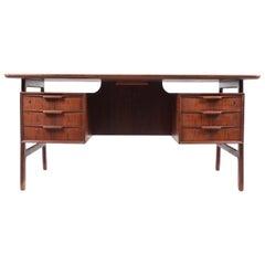 Oman Jun Desk in Rosewood