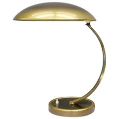 Brass Desk Lamp by Christian Dell 6751 for Kaiser, Germany, 1950s