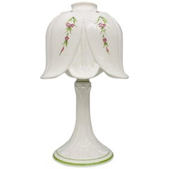 Porcelain Table Lamp by Bassano, Italy, 1960s