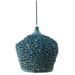 Danish Midcentury Ceramic Pendant Chandelier, 1960s
