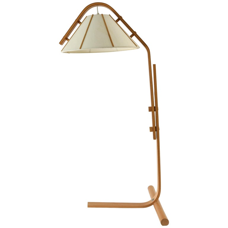 Mads Caprani Style Bentwood Lamp
