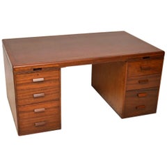 1950s Vintage Mahogany Desk by Waring and Gillow
