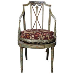 Set of Six Regency Armchairs