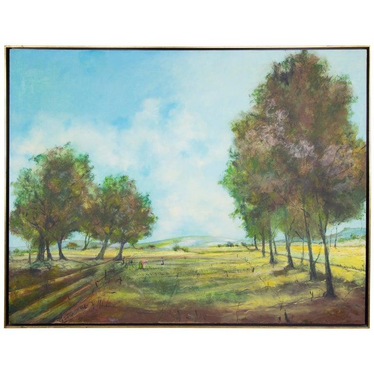 Oil on Canvas Artist Signed Gilles Gosselin For Sale