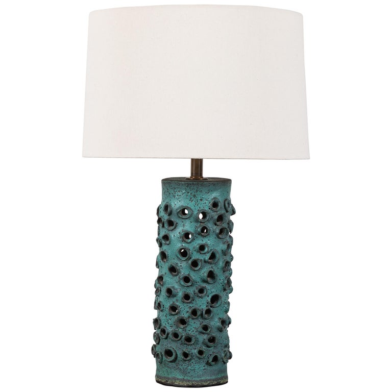 Trafitto Table Lamp by Magnolia Ceramics for Lawson-Fenning