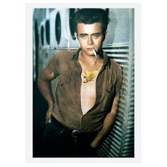 James Dean from 'Legends of Castelloland', Contemporary Color Photograph, 2018
