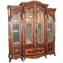 19th Century French Neoclassical Revival Style Vitrine
