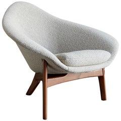 "Rare Adrian Pearsall ""Coconut"" Chair"