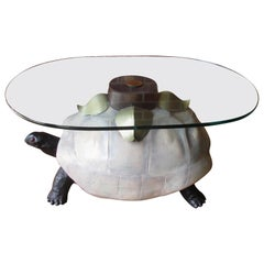 Anthony Redmile Style Tortoise Coffee Table