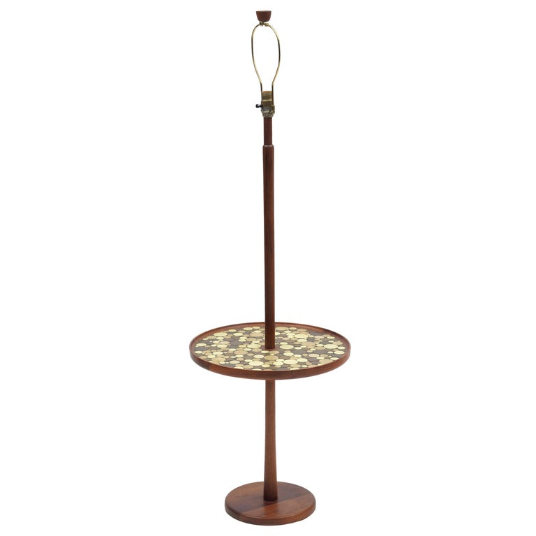 Gordan and Jane Martz Floor Lamp with Tile Table for Marshall Studios