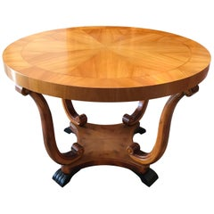 Swedish Art Deco Circular Centre Table