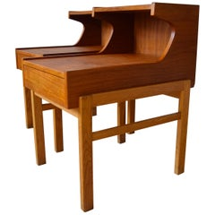 Danish Midcentury Teak Night Tables, 1960s