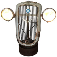 1930s Austin 10 Grille with Lucas King of the Road Head Lights
