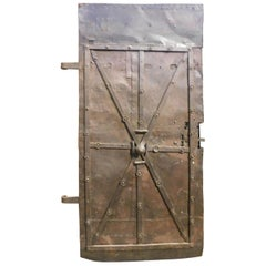 19th Century Iron Door from Prison or Tower